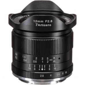 Lente 7artisans Fotoeléctrica 12mm f / 2.8 para Sony E
