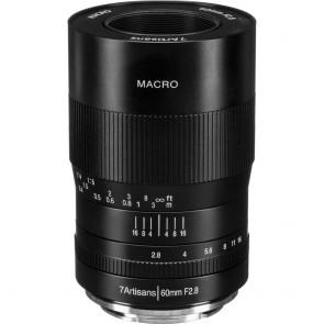 Lente Macro 7artisans Fotoeléctrica 60mm f / 2.8 para Sony E