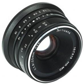 Lente 7artisans Fotoeléctrica 25mm f / 1.8 para Sony E
