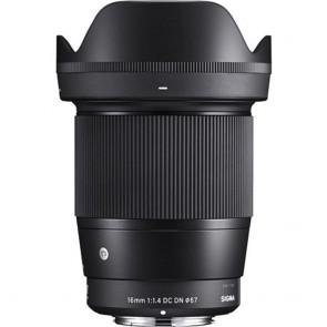 Lente Sigma 16mm f/1.4 DC DN Contemporary Lente para Sony E