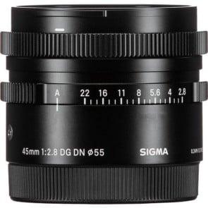 Lente Sigma 45mm f/2.8 DG DN Contemporary para Sony E