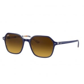 Lentes  de Sol Ray-Ban RB2194 John Blue On Stripes OrangeBlue