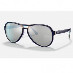Lentes de Sol Ray-Ban RB4355 Vagabond Azul Claro