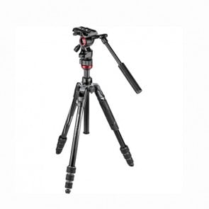 Manfrotto Befree Live Kit de Video con Cerradura Twist Locks