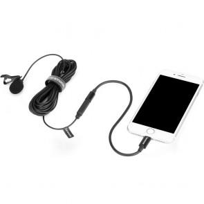 Microfono Lavalier omnidireccional 6m Lightning Saramonic LavMicro U