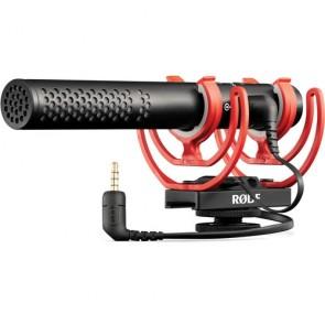 Microfono Shotgun Hybrid Analog USB Rode VideoMic NTG