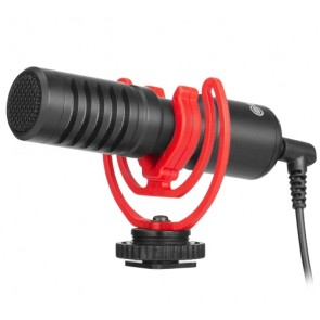 Microfono para Celular y Cámara DSLR BY-MM1 +