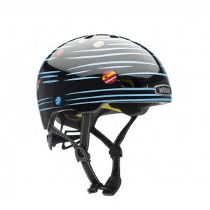 Casco para Niños Little Nutty Defy Gravity Reflective Gloss Mips T (48cm-52cm)