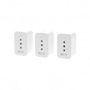 Enchufe Inteligente con Wifi Nexxt 3 Unidades