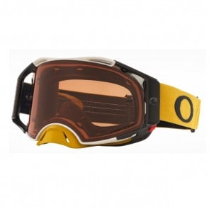 Antiparras Oakley Airbrake®MX Tuff Blocks Gunmetal Gold