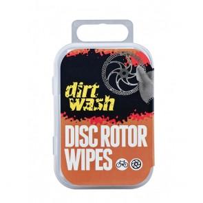 Paños de Limpieza para Discos de Freno Dirtwash Weldtite 6 unidades