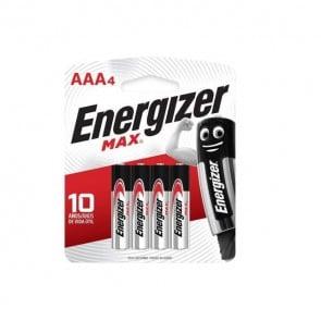 Pack de 4 pilas alcalinas AAA 1.5V Energizer