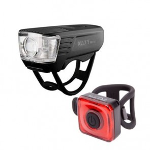 Pack de Luces de Bicicleta Allty Mini + Seemee 20 Magicshine