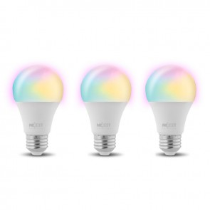 Pack de 3 Ampolleta Wifi LED Blanco-Calido 800 lumenes
