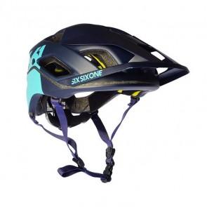 Casco de Bicicleta SixSixOne Evo AM Patrol Azul Marino
