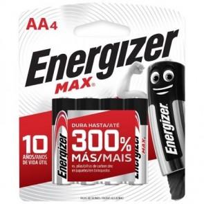 Pilas Alcalina AA Energizer Max
