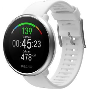 Reloj Fitness con GPS Polar Ignite Blanco Silver M/L