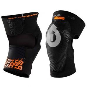 Rodillera de bicicleta sixsixone 661 - comp am knee black