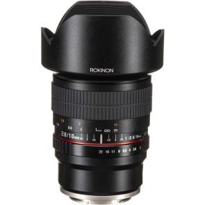 Lente Rokinon 10mm f / 2.8 ED AS NCS CS para Montura Sony E