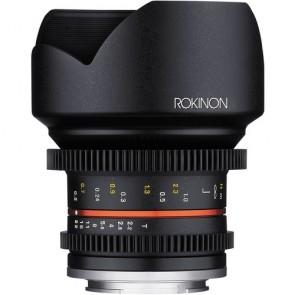 Lente de cine Rokinon de 12 mm T2.2 para montura Sony E