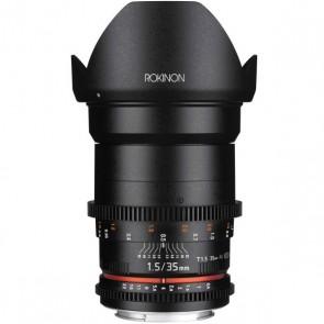 Rokinon DS 35mm T1.5 Cine Lente para Canon EF