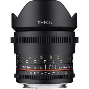 Lente ojo de pez Rokinon 12mm T3.1 ED AS IF NCS UMC Cine DS para Sony E-Mount