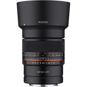 Lente Rokinon 85mm f / 1.4 para Canon RF