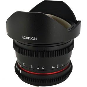 Lente Rokinon 8mm T3.8 Cine UMC Fisheye CS II para Montura Sony E