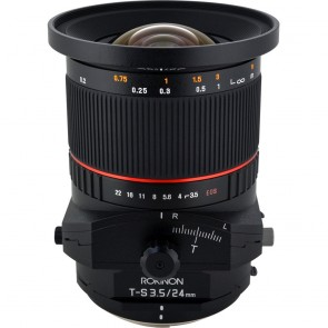 Lente Rokinon TS 24mm f / 3.5 ED AS UMC Tilt-Shift para Sony E