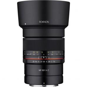Lente Rokinon 85mm f / 1.4 para Nikon Z