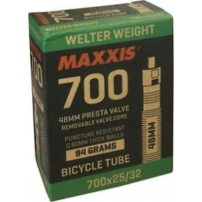 Camara Maxxis 700x25/32c 48mm PrestaValve Tube