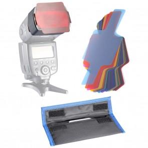Set de 20 Filtros de Colores para Flash Neewer
