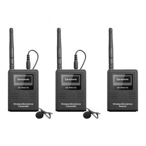Sistema de Microfono Lavalier Inalámbrico para Camaras Saramonic SR-WM2100