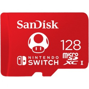 Tarjeta de memoria SanDisk para Nintendo Switch MicroSDXC de 128 GB UHS-I
