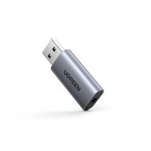 Tarjeta de sonido externa USB 2 en 1 Ugreen