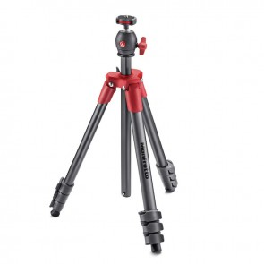 Trípode Manfrotto Compact Light rojo  2