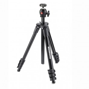 Tripode Manfrotto Compact Light Negro