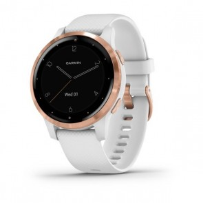 Reloj Garmin vívoactive 4s White/ Rose Gold