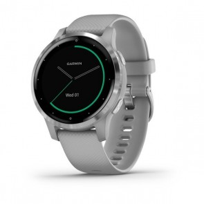 Reloj Garmin vívoactive 4s Powder Grey/Stainless Steel
