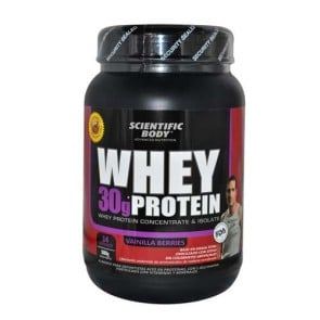 Suplemento Alimenticio Whey Protein 500g Berries Scientific Body