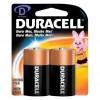 Pack de 2 pilas Grandes D - Duracell