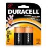 Pack de 2 pilas Medianas C Duracell