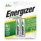 Batería Recargable de Larga Duración AA Energizer