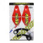 Kit Protector de Puño AVS Racing Rojo
