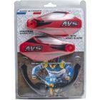 Kit Protector de Puño AVS con Soporte Aluminio Rojo