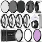 Kit de accesorios de filtro de lente completo Neewer 58MM