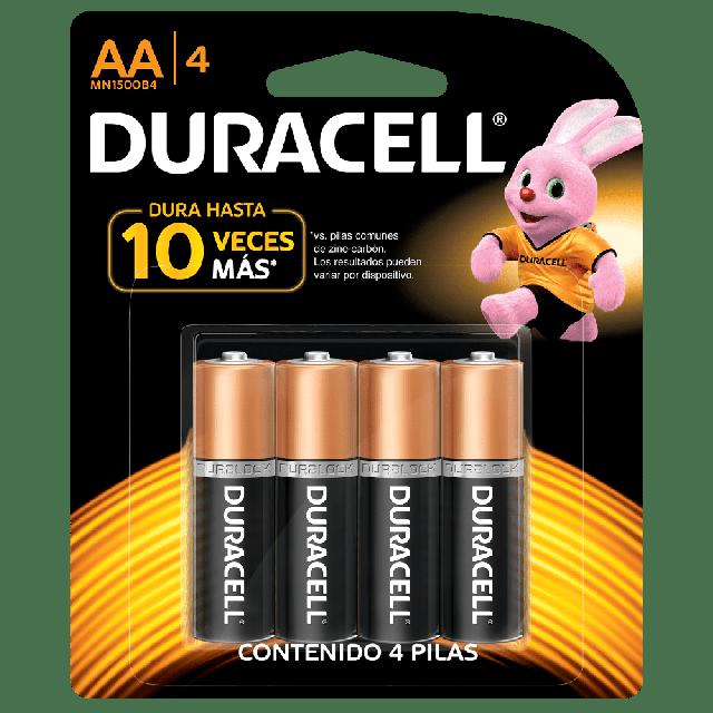 Pilas Duracell AA 4 Pilas