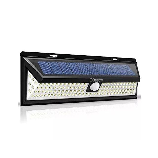 Luz Solar Led con Sensor de Movimiento 600 lumenes