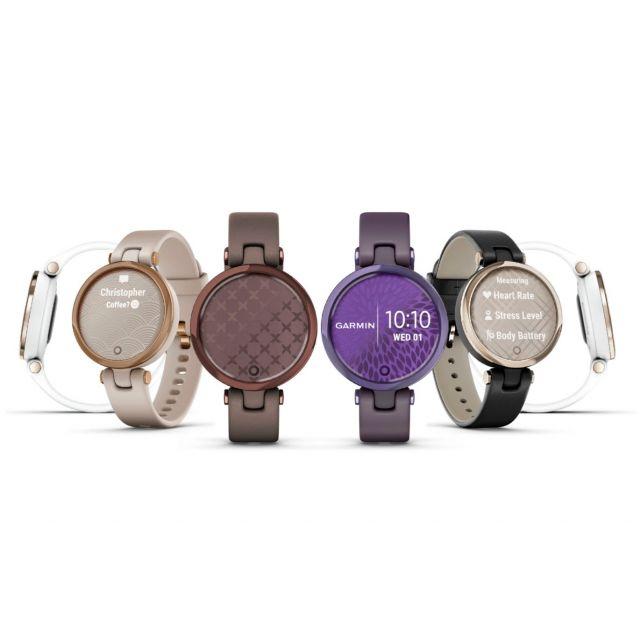 Smartwatch Garmin Lily Correa de Cuero