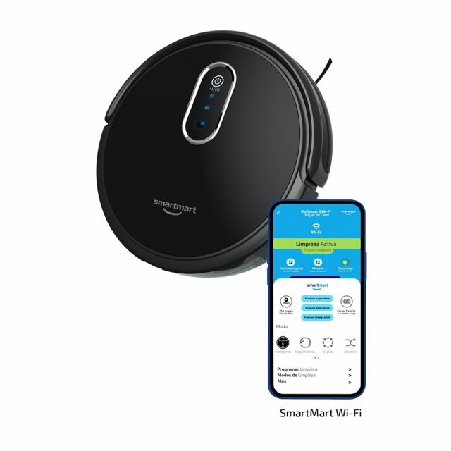 Aspiradora Robot 2 en 1 MySmart 3 Smartmart